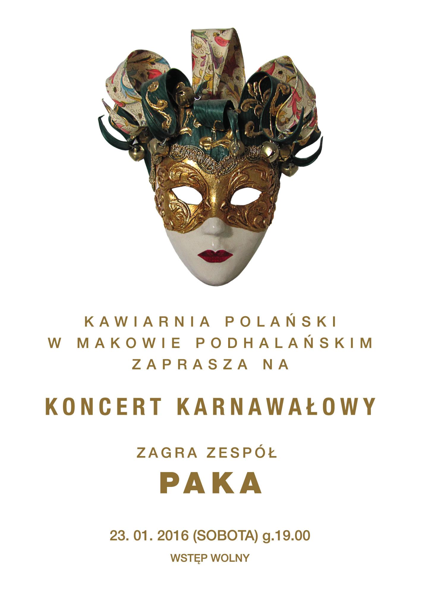 Koncert Karnawałowy Paka - Maków Podhalański