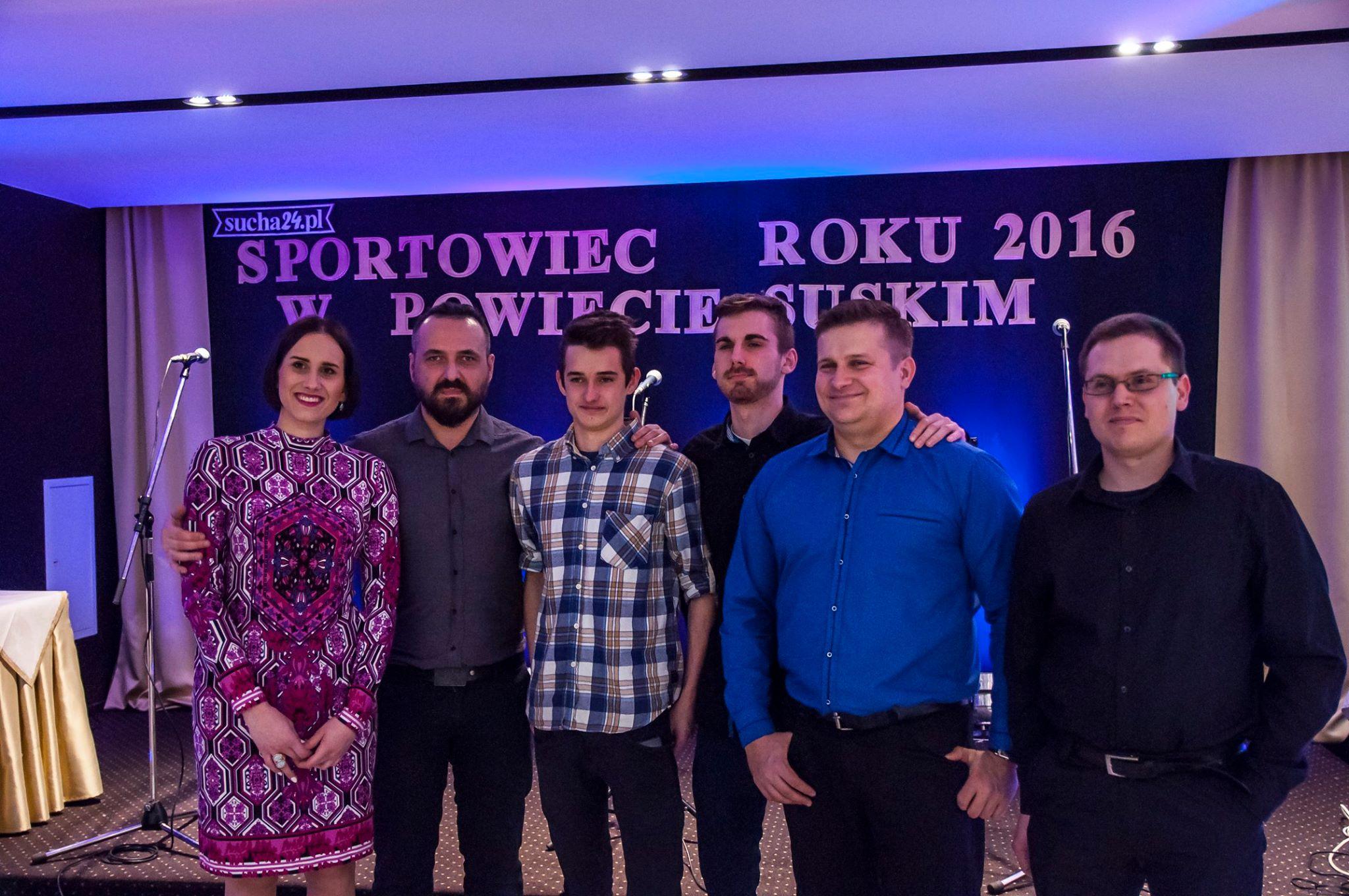 Sportowiec roku 2016 w Powiecie Suskim, Paka Band